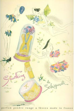 Else Schiaparelli Shocking Perfume